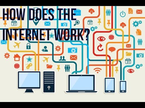 how does internet works