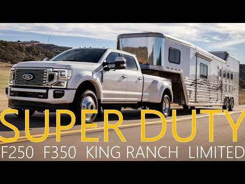 2020 Ford F-250 Super Duty King Ranch Interior