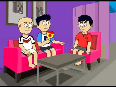 92 Gambar Kartun Rumah Tidak Sehat HD Terbaik