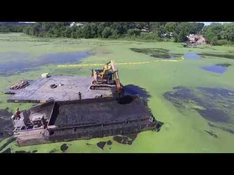 Hydrographic Surveying on Goose Lake