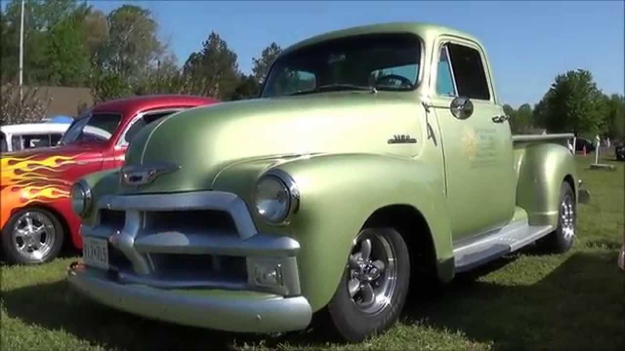 1954 Chevy Pickup Mild Custom Youtube Chevrolet Pick Up