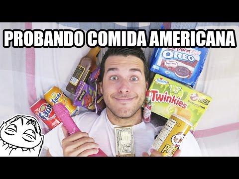 PROBANDO COMIDA AMERICANA