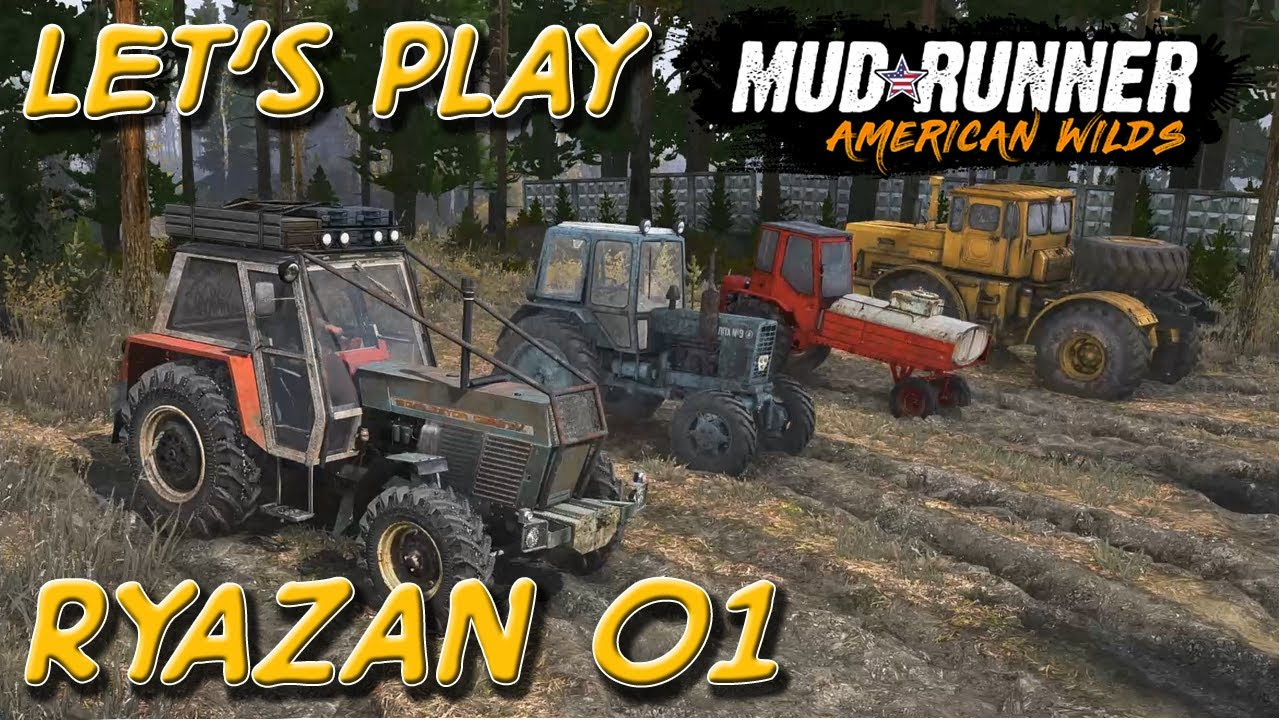 let's play mudrunner  ryazan 01  kleiner roter traktor