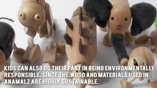 Anamalz Gorilla Review - Anamalz Wooden Toy
