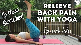 Yoga for Lower Back Pain [w/ Adee]