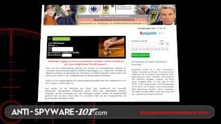 Bundesnachrichtendienst Virus löschen