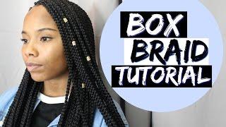WATCH ME WORK: Box Braid Tutorial + GIVEAWAY WINNER!