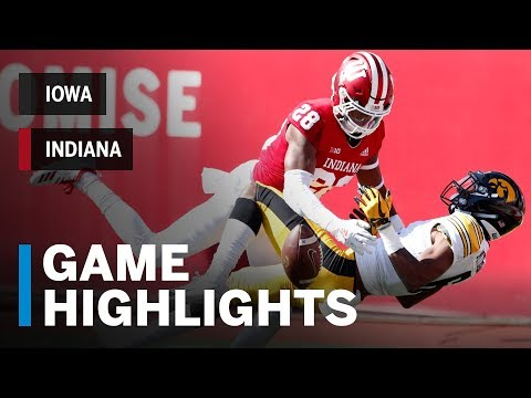 Highlights: Iowa Hawkeyes vs. Indiana Hoosiers | Big Ten Football