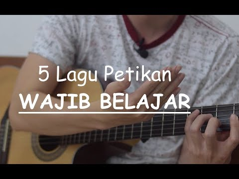 5 Lagu Petikan WAJIB BELAJAR