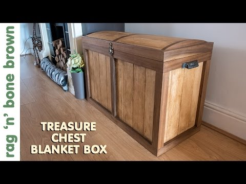 Making A Treasure Chest Ottoman / Blanket Box (part 1 of 2)
