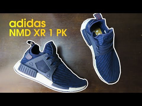 Adidas NMD XR1 UNBOXING | NAVY BLUE