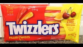 Twizzlers: Sweet & Sour Cherry Kick Citrus Punch Review