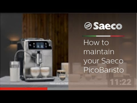 How To Maintain Your Saeco Picobaristo Youtube