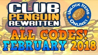 CP Rewritten - ALL WORKING ITEM CODES (February 2018)