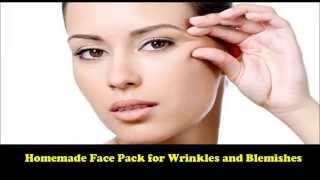 Home Remedy for Wrinkles, Blemishes & Pigmentation | Homemade anti-aging face pack