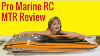 ProMarine MTR Review - Fast RC Catamaran