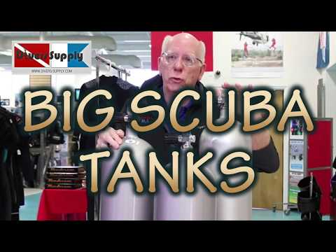 Why Buy BIG SCUBA TANKS ** Want To Dive Longer ??