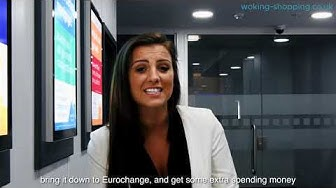 #WokingTV - Money services, mortgage advice and cash for gold at Eurochange!