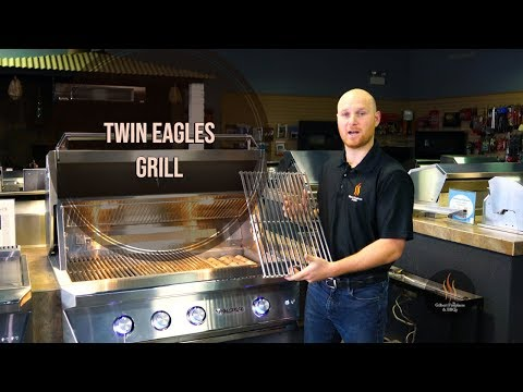 One of the BEST grills on the market... this is the Twin Eagles Grill tutorial.