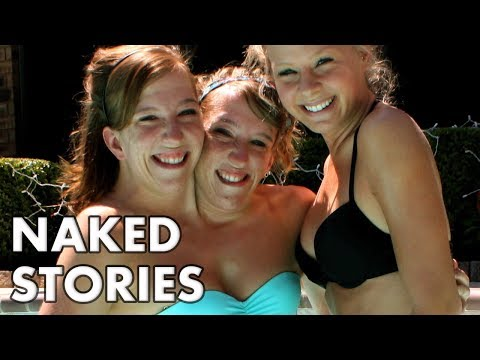 Naked women with grey hair