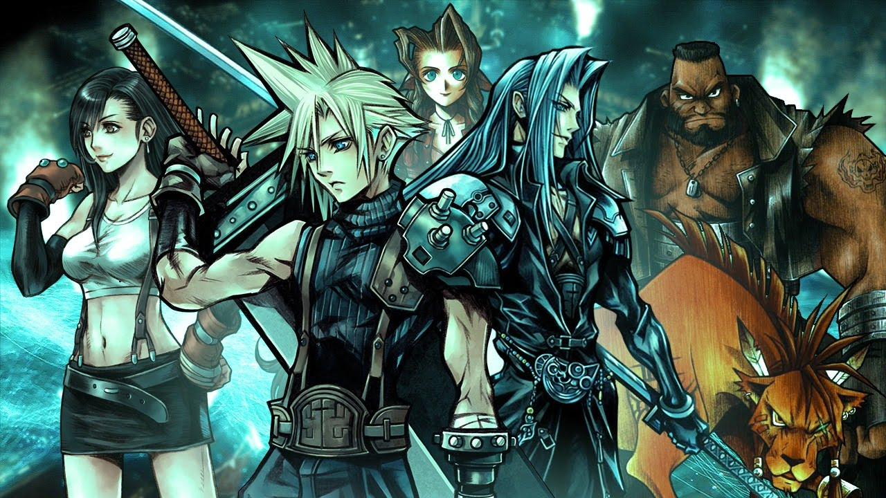 Image result for FINAL FANTASY VII