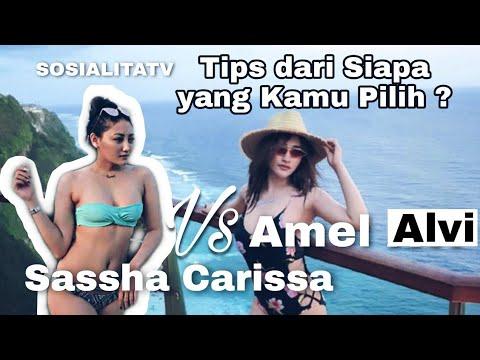Download Sassha Carissa dan Amel Alvi di SOSIALITATV