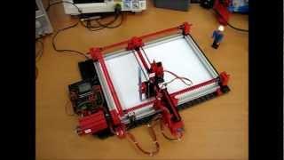 видео: Плоттер fischertechnik