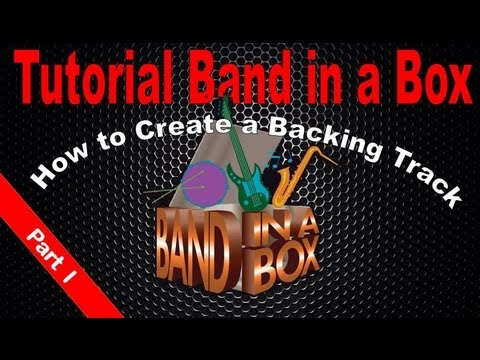 Tutorial Band in a Box: How to create a Real Backing Track (Part 1)