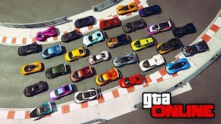 FIGURE-8 WINDMILL RACE! +MORE! || GTA 5 Online || 9/08/17 - GTAmissions' PoV