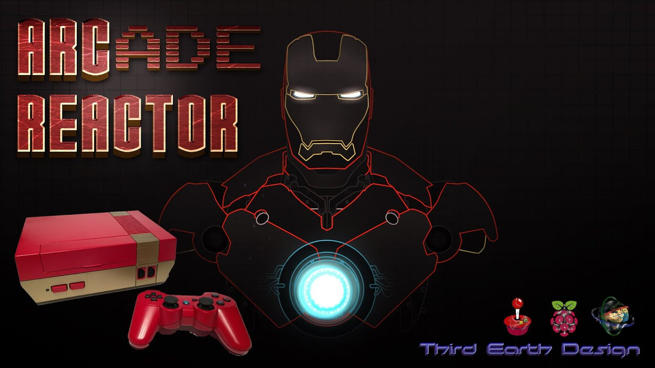 ARCade Reactor - RetroPie Gaming and Media System: 10 Steps (with