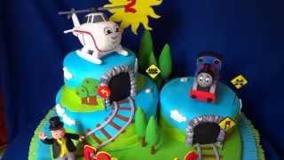 Repeat youtube video TREN THOMAS TRAIN CAKE