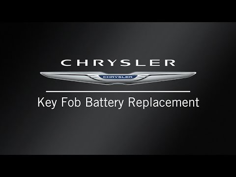 Key Fob Battery Replacement | How To | 2020 Chrysler Pacifica