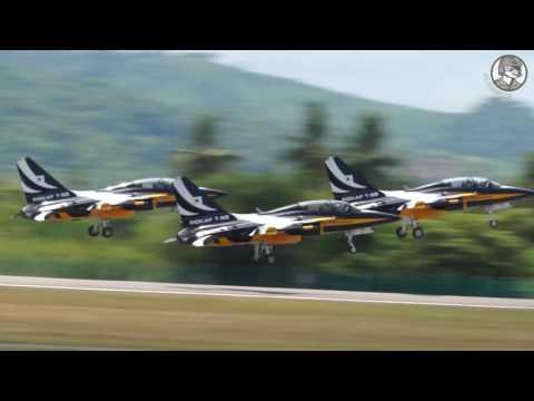 LIMA 2017 Day 2: Military Aircraft and Aerobatic Teams Flight Demonstrations