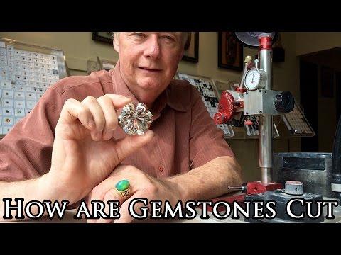 How are gemstones cut - Quartz Faceting