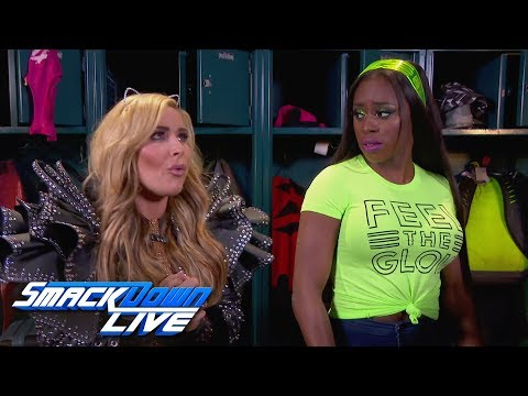 Naomi issues a WWE Fastlane challenge to Natalya: SmackDown LIVE, March 6, 2018