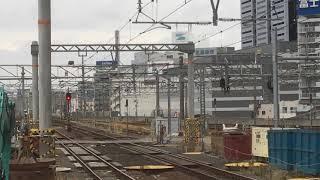 [臨時急行列車‼️急行ぬくもり飛騨路号‼️]JR東海 キハ85形 4両(急行ぬくもり飛騨路号高山行き)名古屋駅 6番線到着‼️