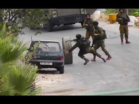 Israeli Army vs. Palestinian Tire: 0-1