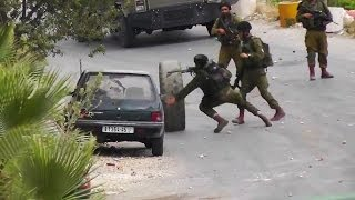 Israeli Army vs. Palestinian Tire: 0-1