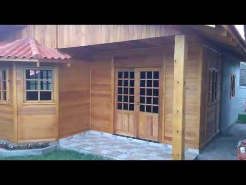 Casa pr fabricada em madeira youtube Casas embargadas por bancos