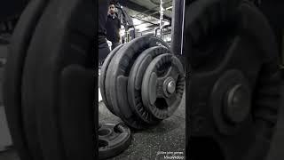 140kg deat lift mr. John at boss fitness