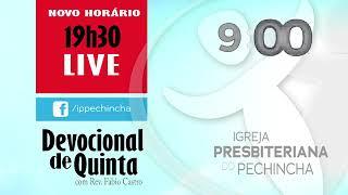 Devocional De Quinta - 03/12/2020 - Rev. Fábio Castro