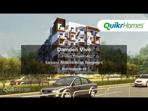 Damden Vivo | Sarjapur Attibele Road | Bangalore | Apartment tour | Quikr  Homes