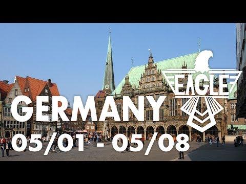 GERMANY TRAVEL VLOG (05/01 - 05/08) - Europe, Discmania Games, Bad Disc Golf, Dabs, and Vegan Food!
