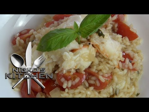 'KIRKS' LOBSTER RISOTTO - Nicko's Kitchen