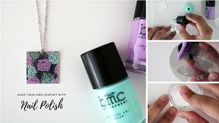 How to Make Jewelry with Nail Polish