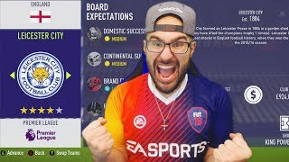 THE HARDEST CAREER MODE OF ALL TIME! - FIFA 18 Career mode Leicester City #01