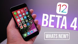 iOS 12 Beta 4 Released - What's New?