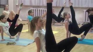 17.12. 17. Tver Youth Ballet Академия СК Балета. Урок гимнастики фрагмент