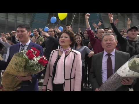 Флешмоб ко дню рождения Димаша Кудайбергена