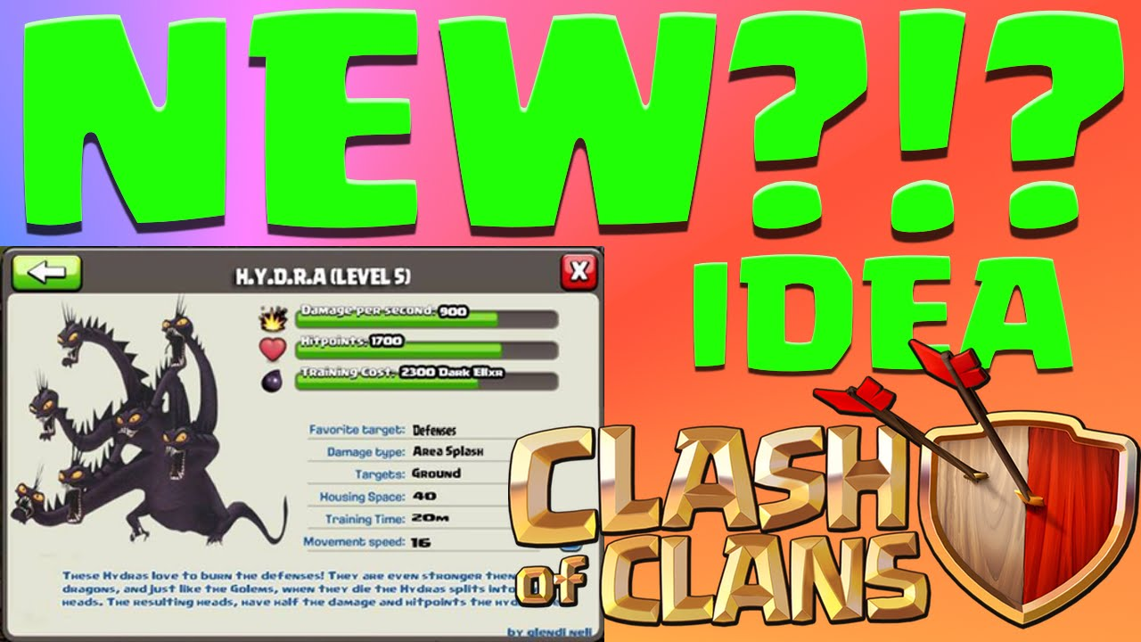 how to create new troops in clash of clans